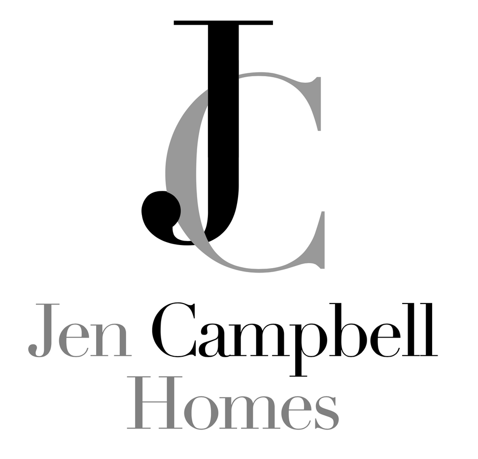 custom monogram logo for Jen Campbell Homes