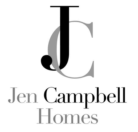 custom monogram logo for Jen Campbell Homes