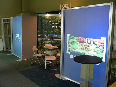 CSX tradeshow display