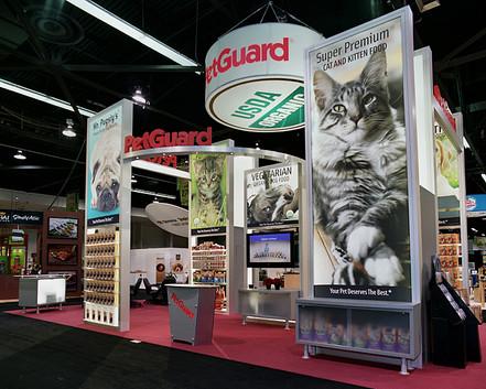 Petguard tradeshow display