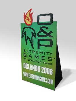 Extremity Games Custom Cutout display