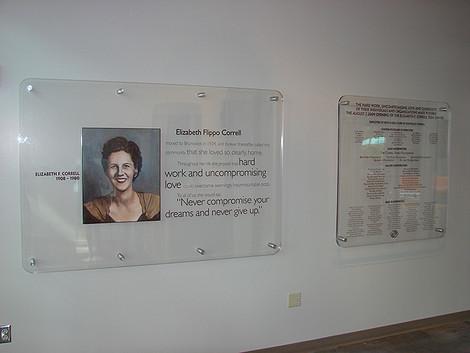 Elizabeth Correll display