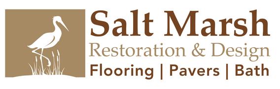 custom logo of a Florida waterbird for Salt Marsh Flooring company
