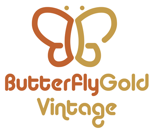 customized butterfly logo for Butterfly Gold Vintage