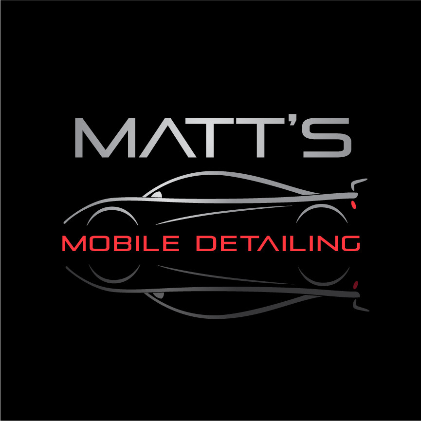 Custom logo design for Matt's Mobile Detailing
