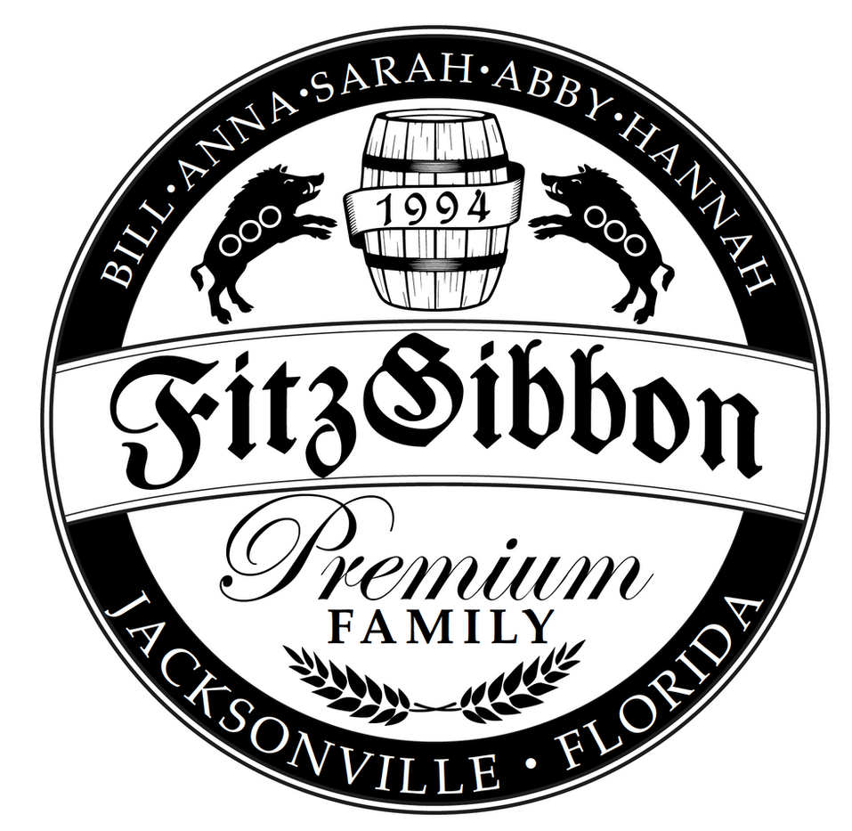 FitzGibbon Family logo of the family crest