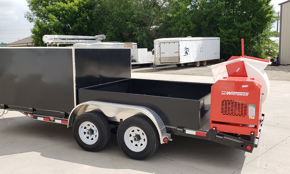 The Light Extreme Curbing Trailer with mixer