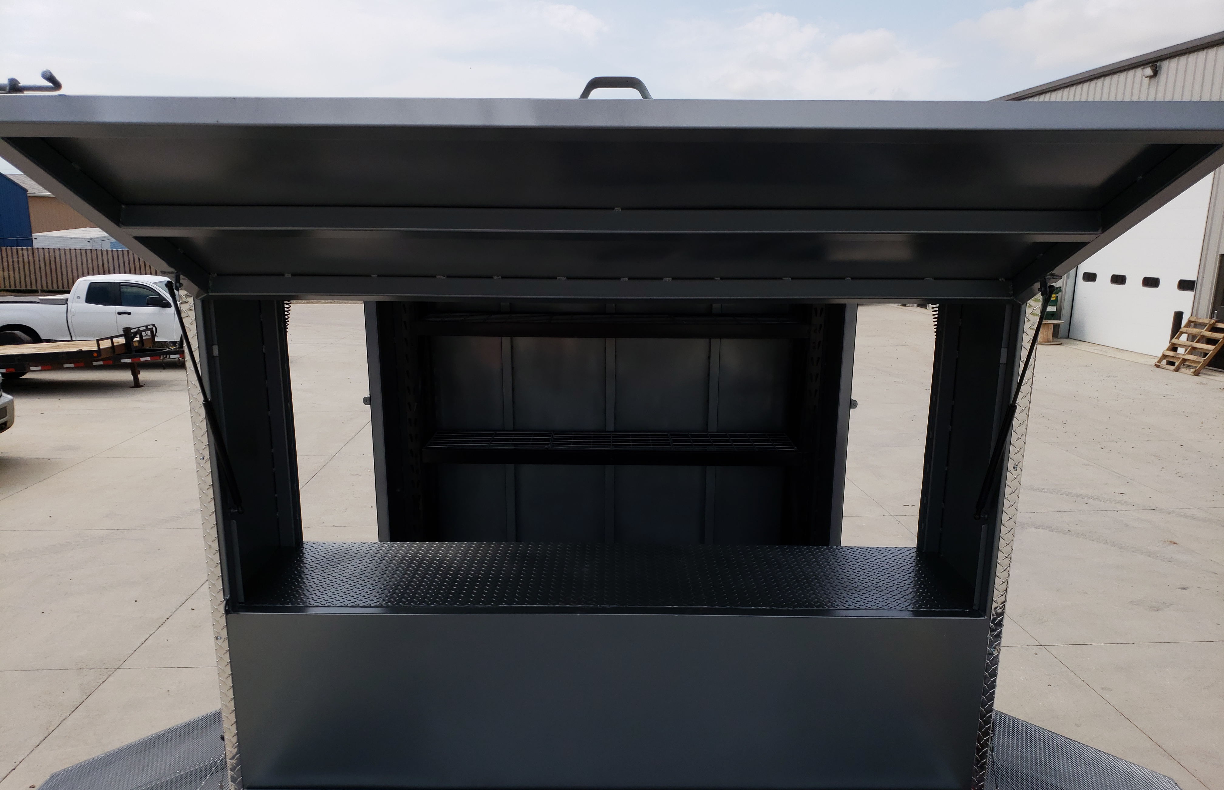 Rear Access to Materials