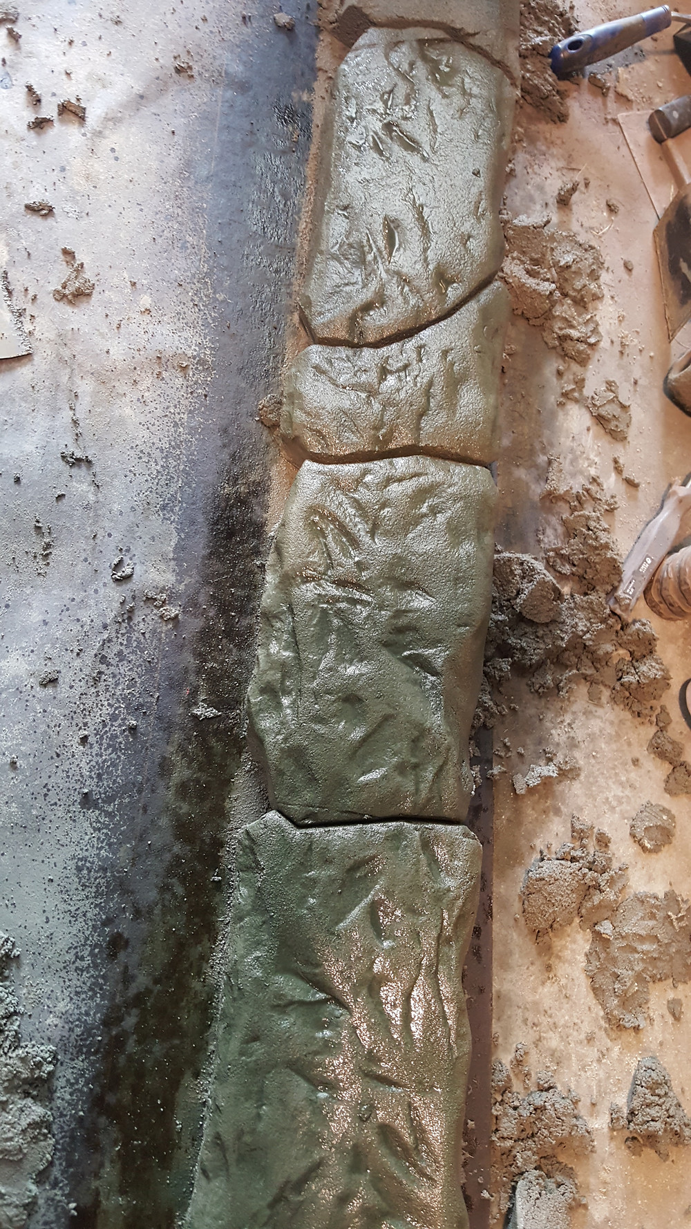 carved stone - valley borders