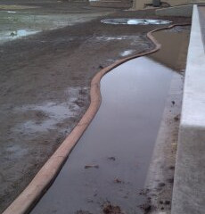 What do you do about drainage??