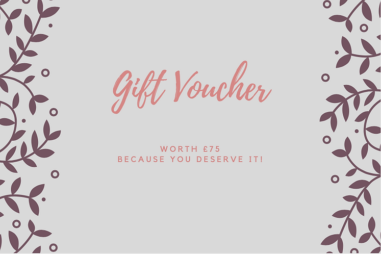 Gift Certificate £80
