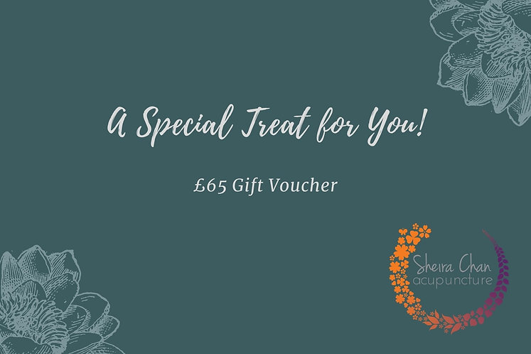 Gift Voucher worth £65