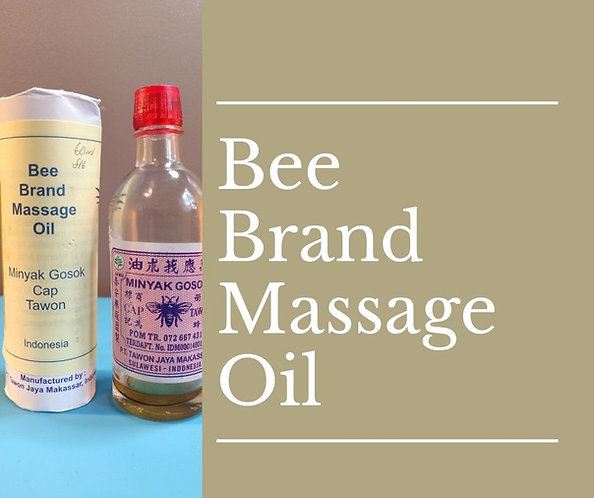 B Brand Massage Oil