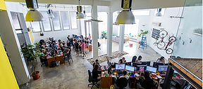 Espacio de oficina abierta