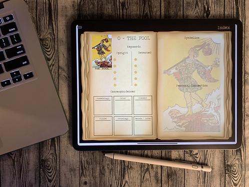 Digital Tarot Journal Download