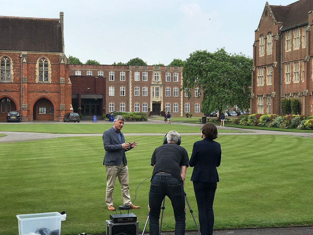St Edwards School filming