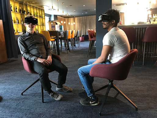 VR at Curzon cinema