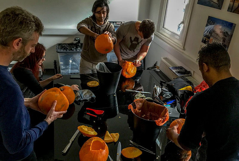 Blink Image pumpkin carving contest