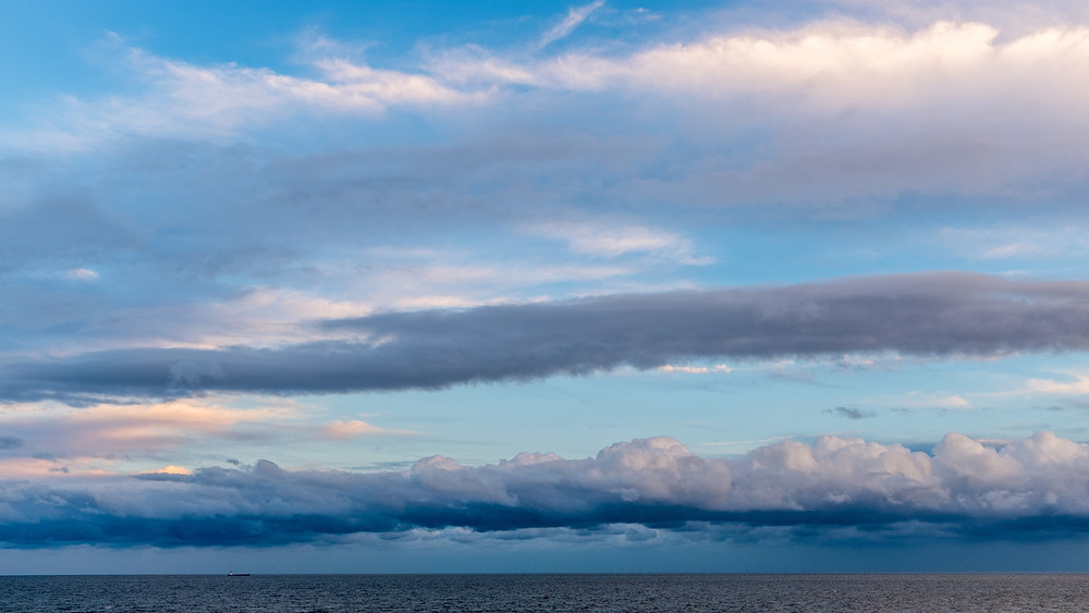 Metallic Sky over Southwold