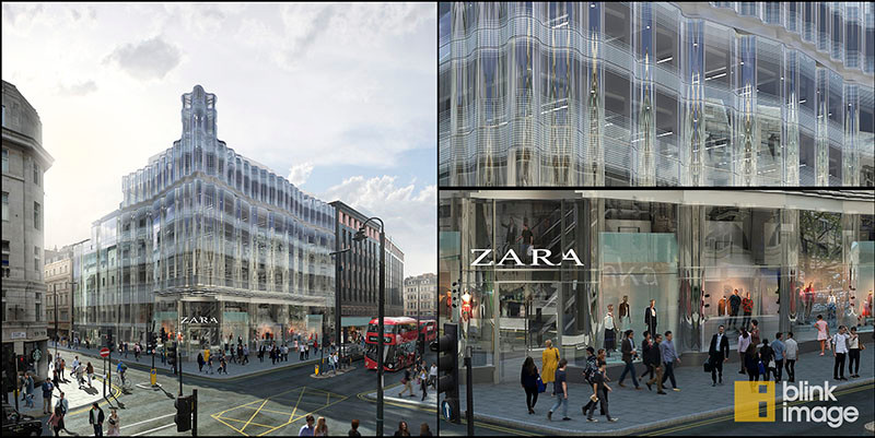 61 Oxford Street – CGI by Blink Image – complete image and close ups