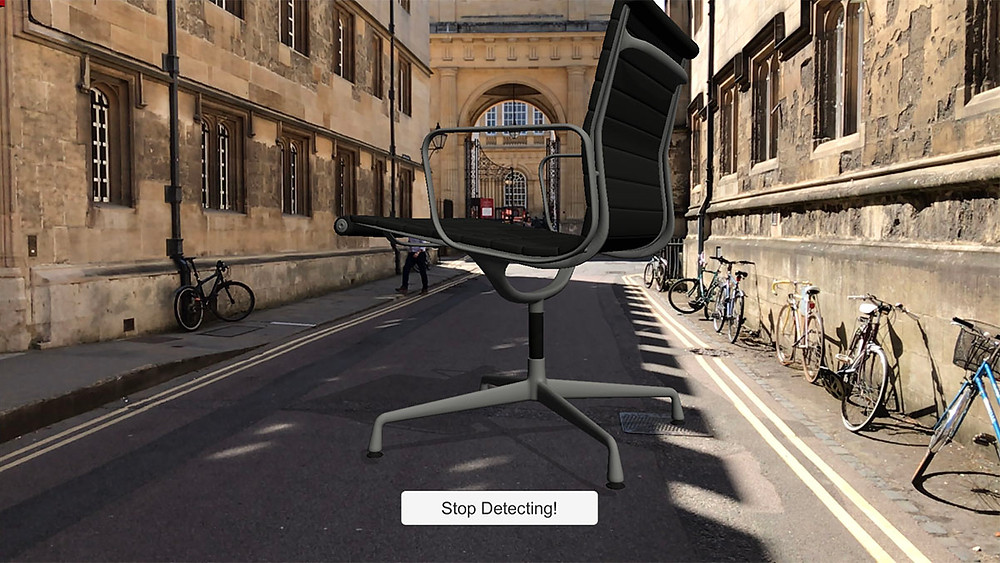 Giant AR chair