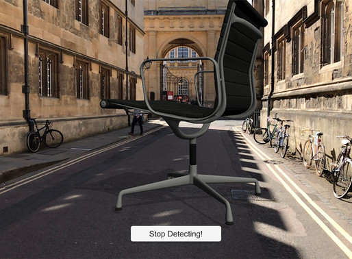 Giant chairs in historic Oxford!