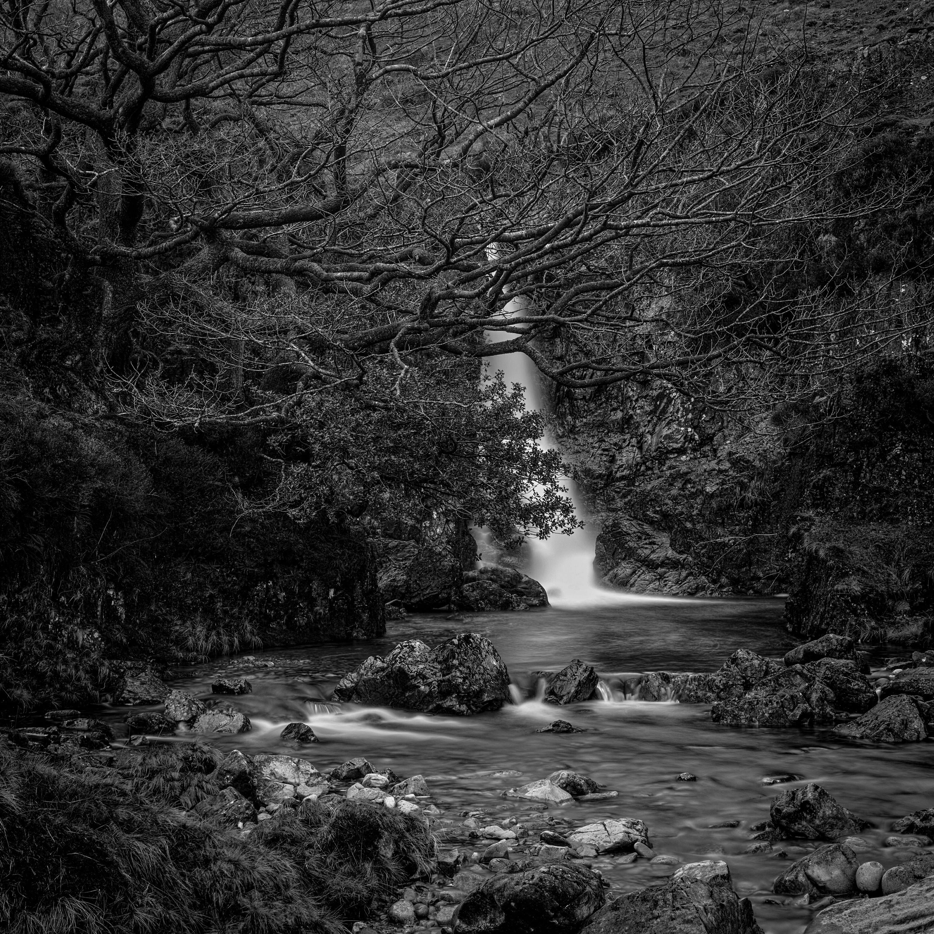 River Esk waterfall