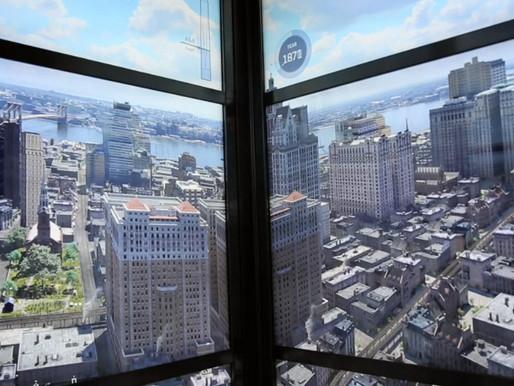Travel vertically through time in Manhattan
