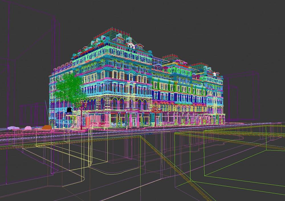 The Grand Hotel 3D model