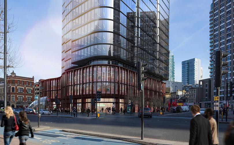 Aldgate Commercial Tower London