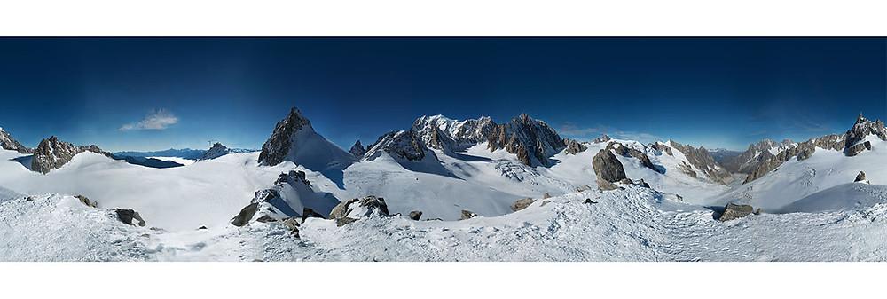 Mont Blanc Panoramic image