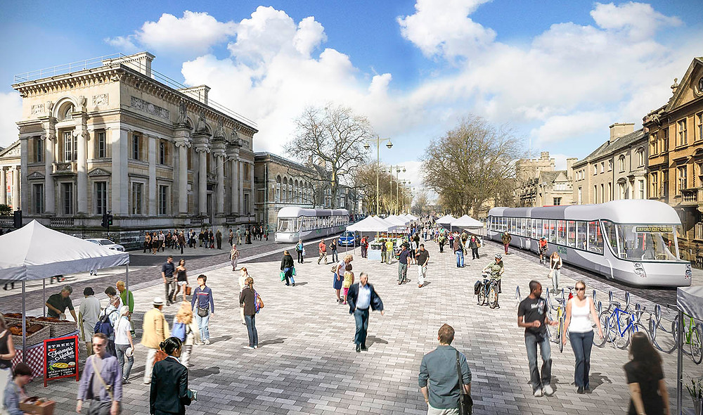 Blink Image CGI to show transport ideas features on the BBC website