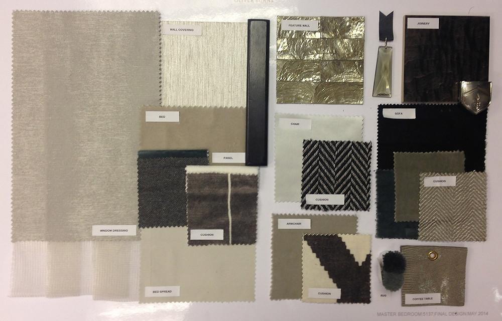 Fabric sample sheet