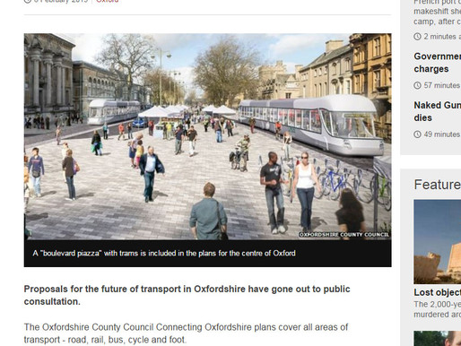 County Council Leader outlines his vision for transport in 'Connecting Oxfordshire'