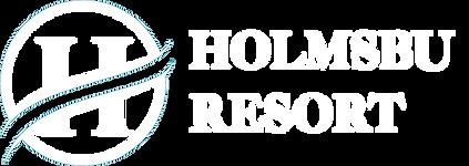 Holmsbu Resort logohvit.png