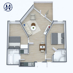 Holmsbu Resort - Familieleilighet - Plan
