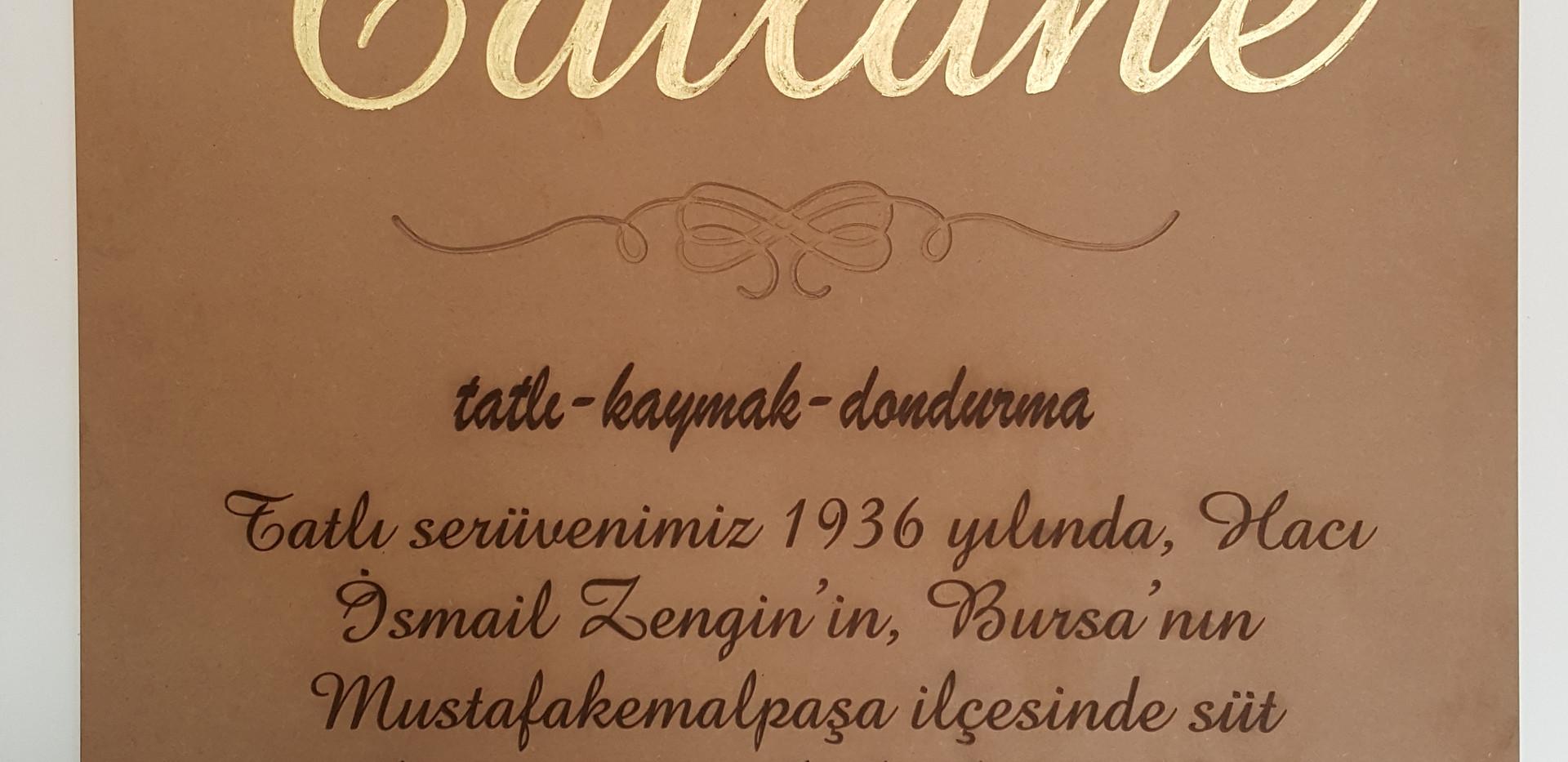 Tatlane Hikayesi