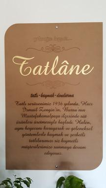 Tatlane Hikaye