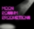 Moon Possum Productions Logo With Spotli
