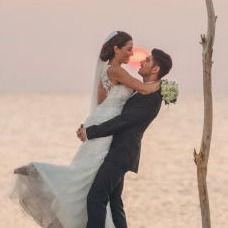 An image of a wedding couple