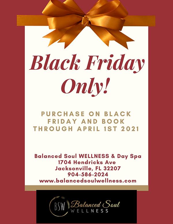Black Friday Sale Balanced Soul WELLNESS