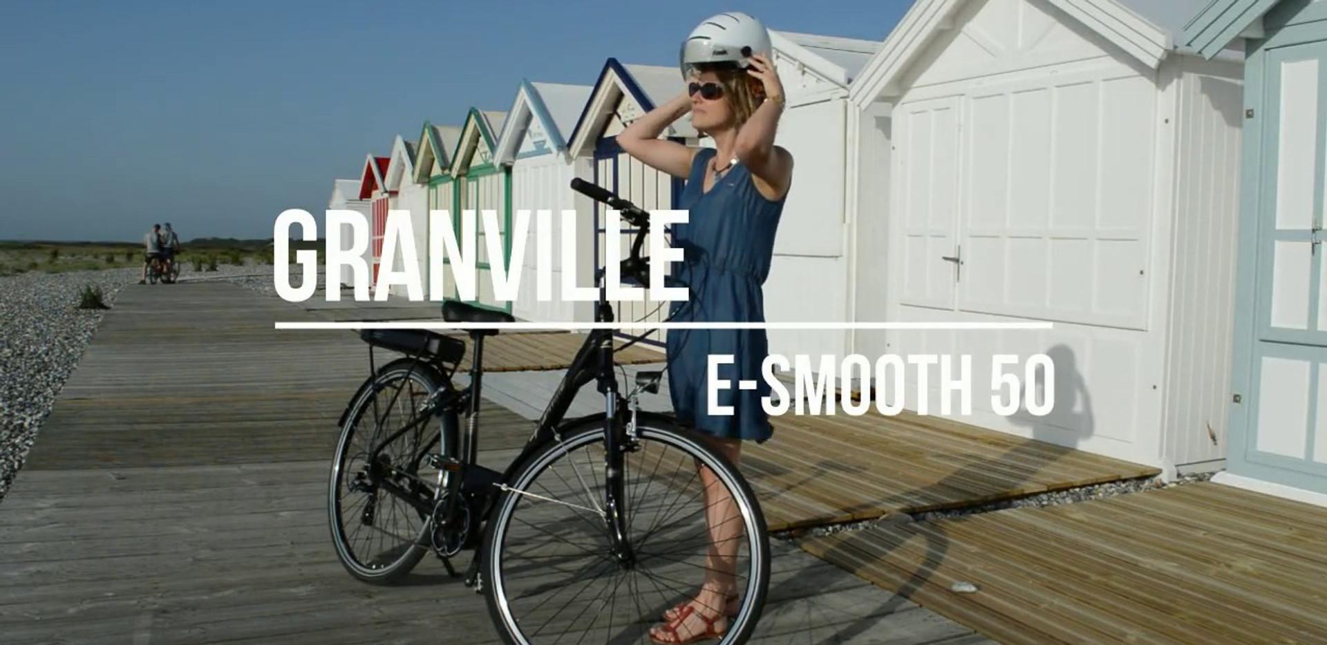 vélo électrique à moteur central Granville E-Smooth 50