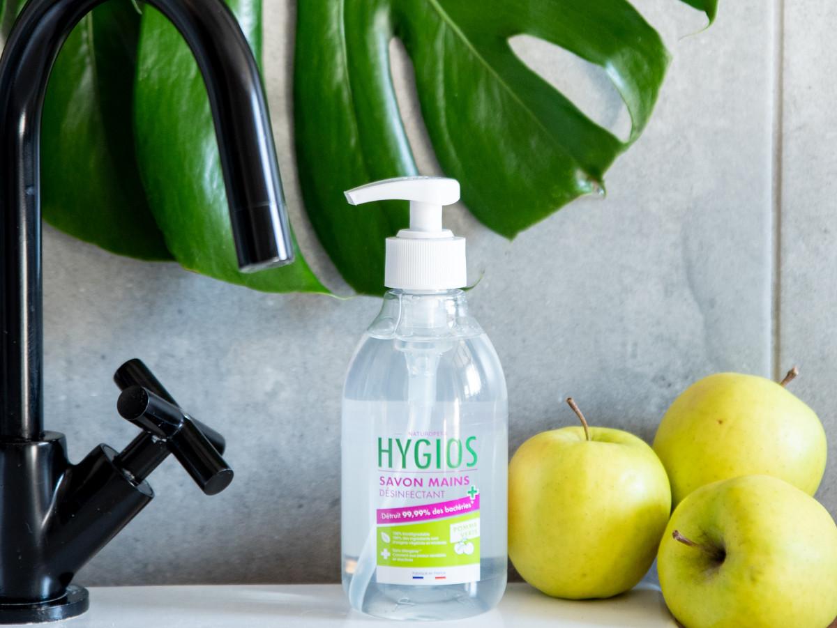 savon-desinfectant-mains-pomme-verte-covid19-hygios