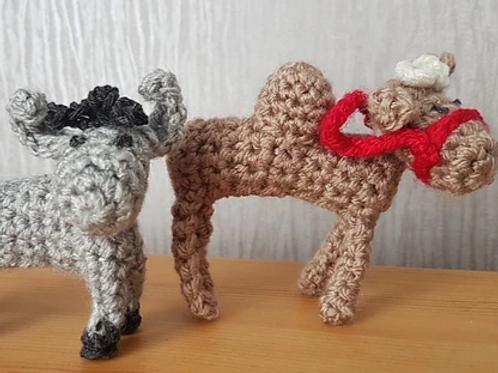 Donkey and Camel