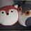 Thumbnail: Owl and fox cushion