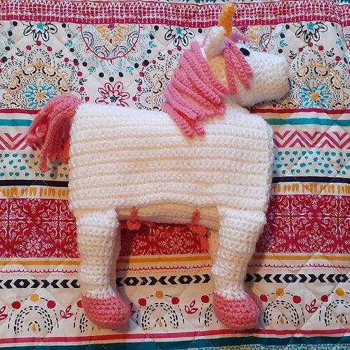 Baby unicorn blanket