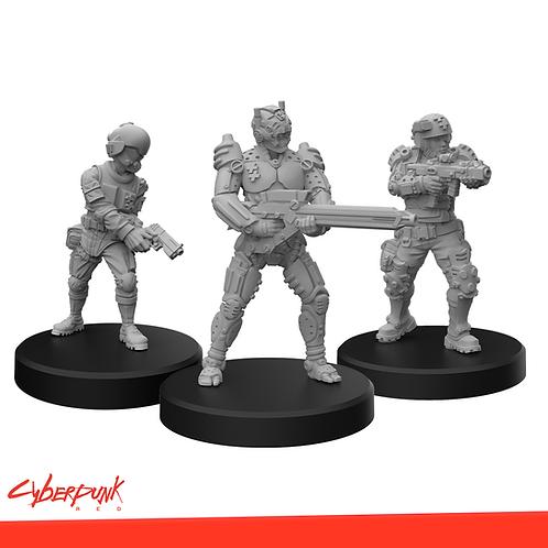 Cyberpunk RED Miniatures - Trauma Team B