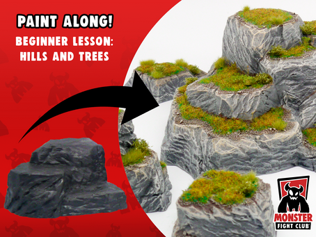 Monster Paint Club: Hills and Trees