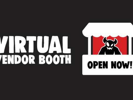 Virtual Vendor Booth is open!