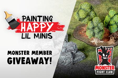 Win a Free Monster Terrain Pledge!